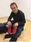 .. die roten Schuhe
